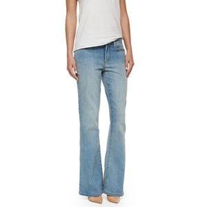 NYDJ Farrah, Size 4, Palos Verdes Blue wash